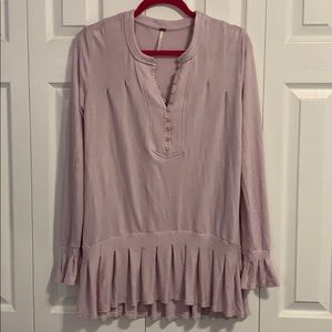 Lavender Free People Top EUC